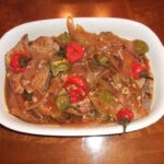 pork chops and peppers