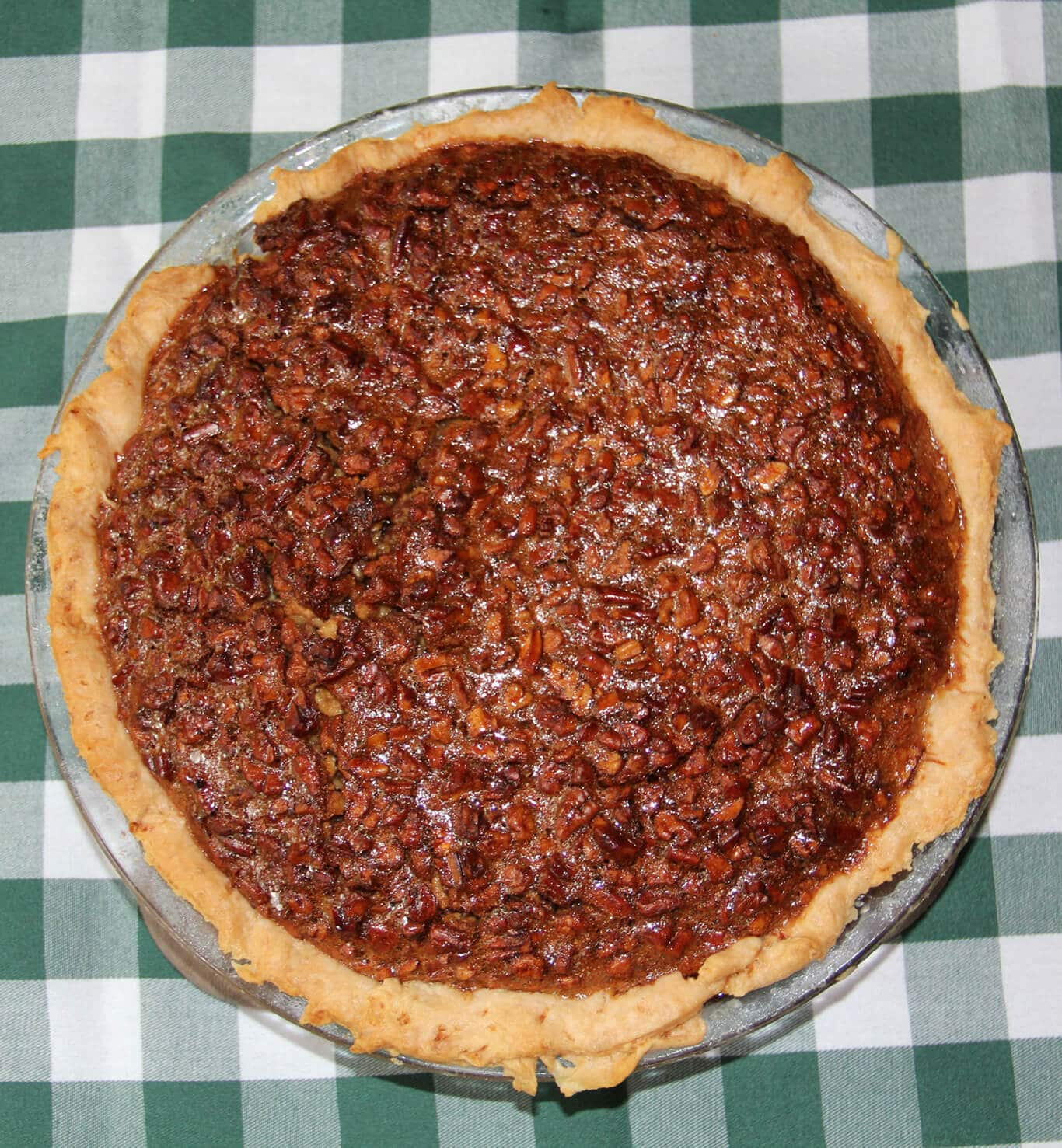 Southern Pecan Pie made with Real Cane Syrup for Richer Flavor