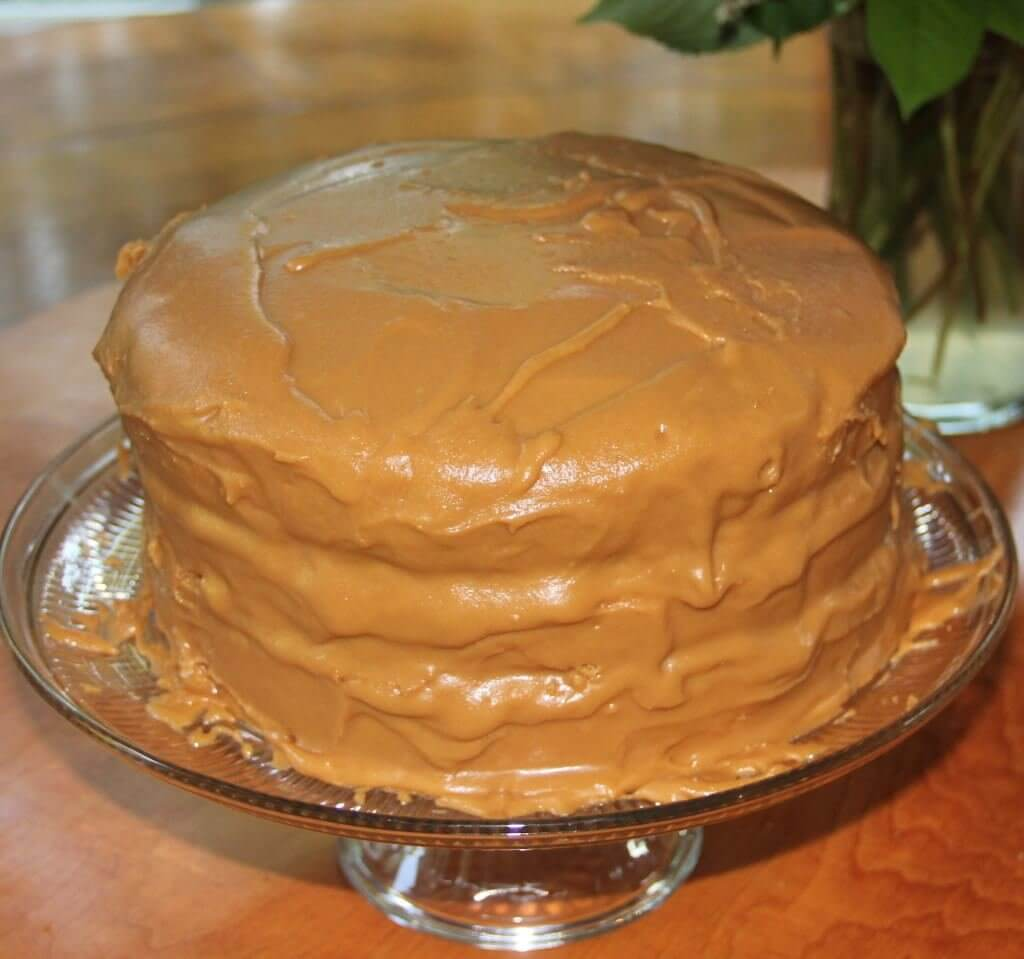 Caramel Icing - Made The Old Fashioned Southern Way Recipes ...