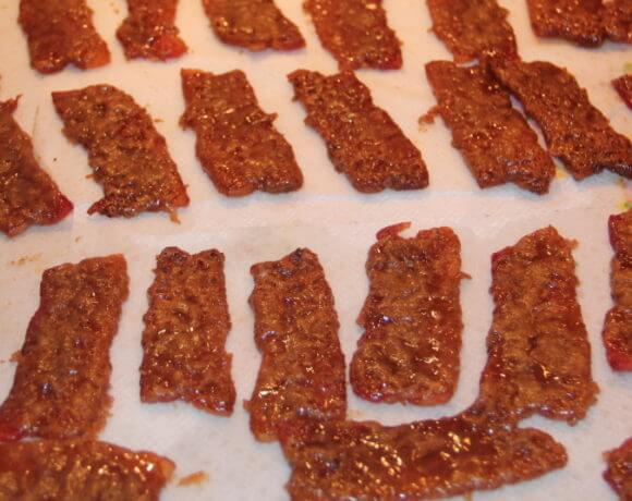 Try this recipe for caramelized bacon--it's like bacon candy! Amazing!