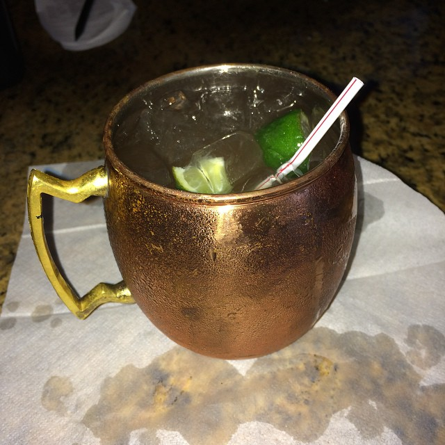 It's a Moscow mule but we ain't in Moscow. #neworleans #jazz