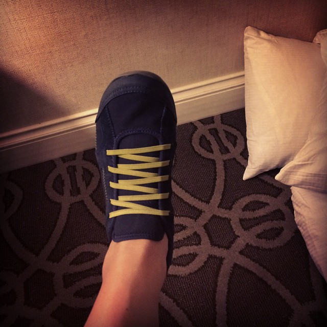 How you know you are old, Part One: comfort eclipses fashion. The good part about being old? #WhoCares #neworleans #lifeisshort #becomfortable #donttellmykids