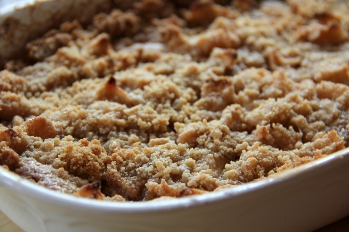 Easy Apple Crisp with No Oats