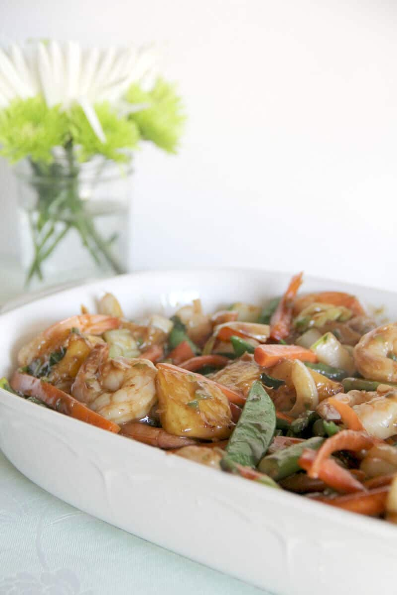 Quick And Easy Pineapple Shrimp Stirfry Recipe — Dishmaps