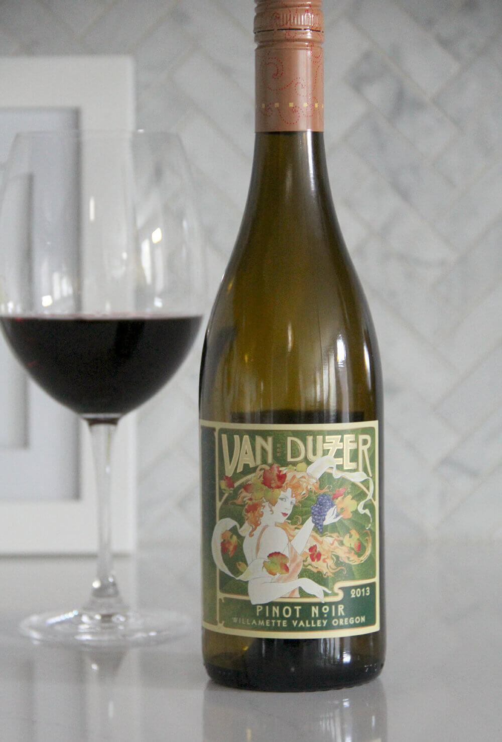 Award winning Van Duzer Willamette Valley Pinot Noir, 2013