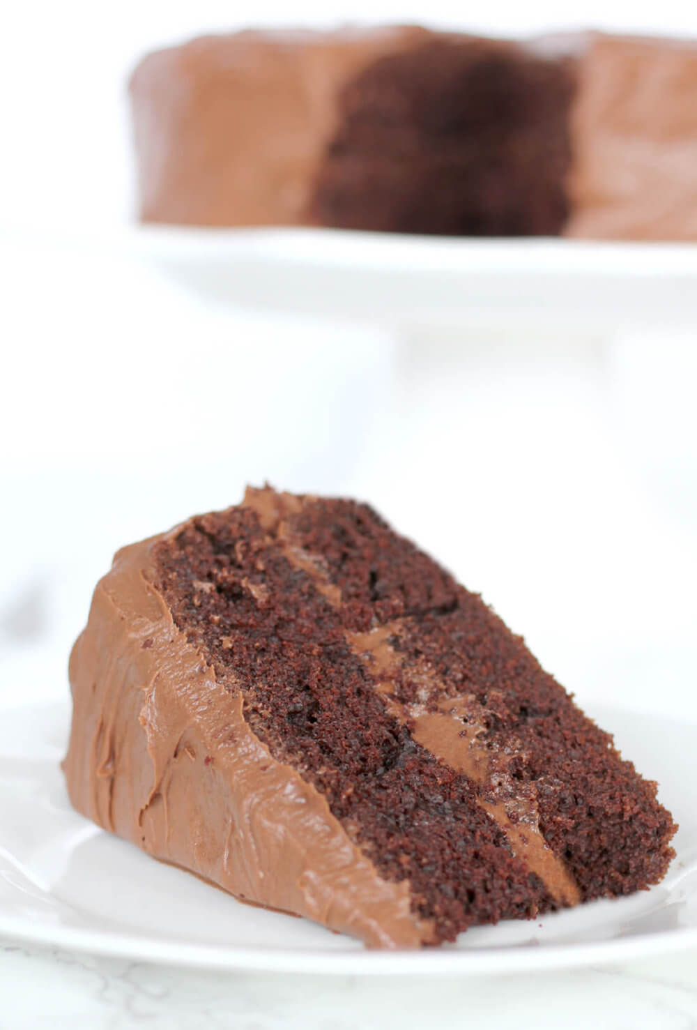 Southern Devil's Food Cake Recipe — Dishmaps
