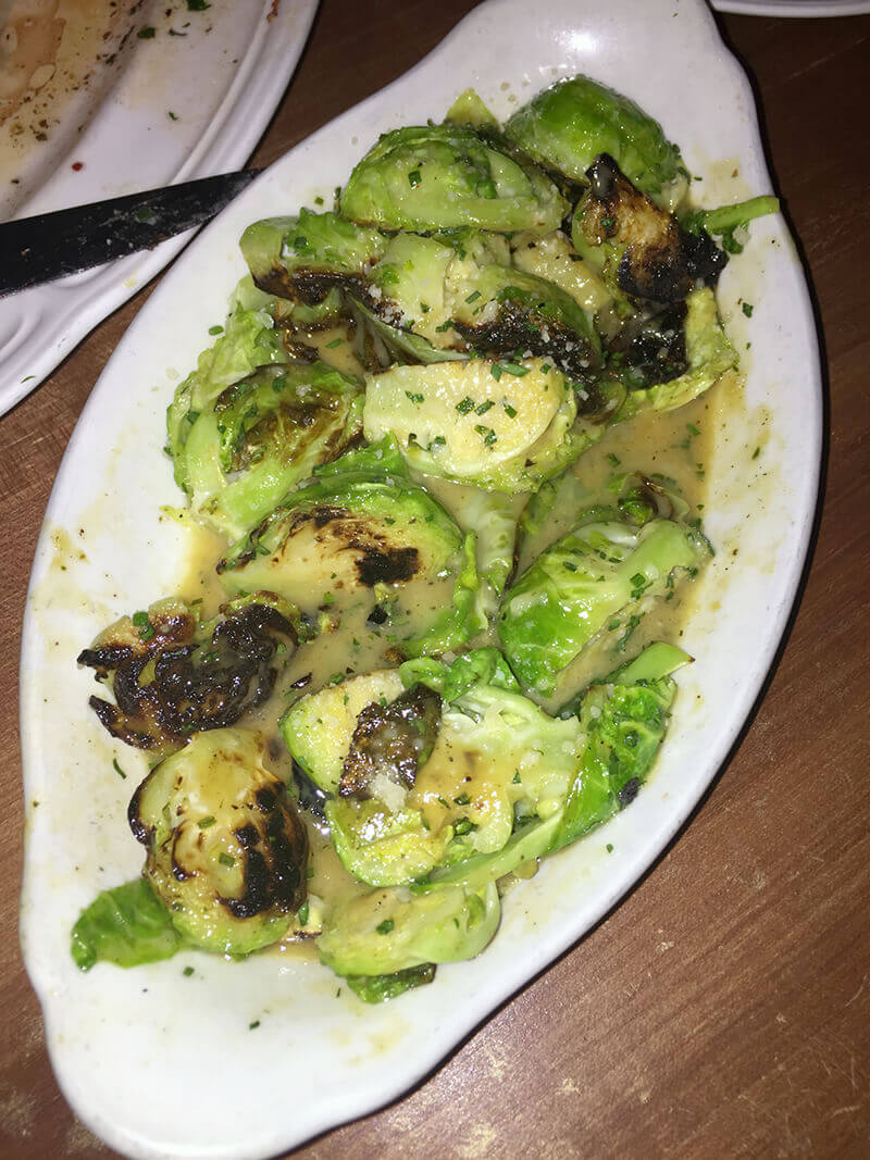Chicago Food Guide best Brussels Sprouts at Bavettes
