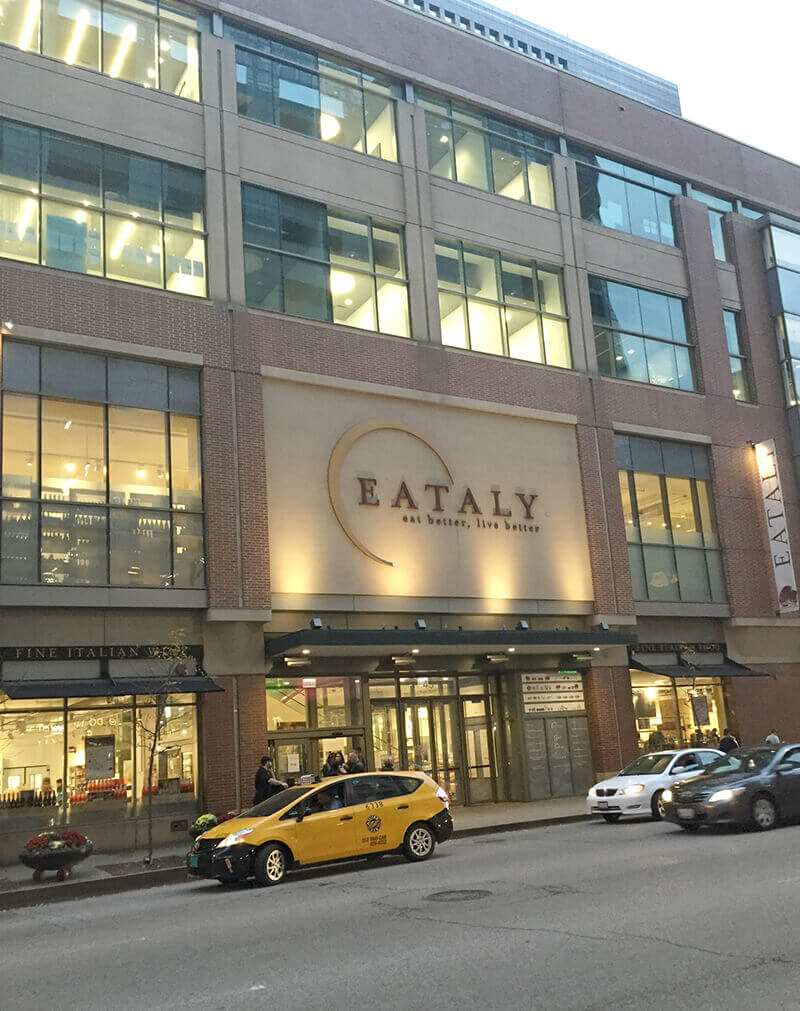 Chicago Food Guide featuring Eataly