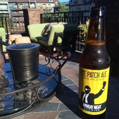 Tipsy Tuesday: Monday Night Brewing's Eye Patch Ale