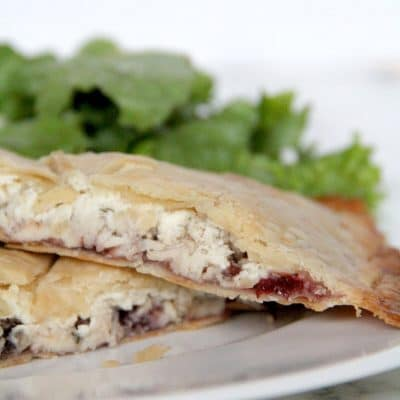 Savory Hand Pies with Turkey, Cranberry, and Boursin