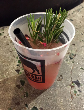 Rosemary's Baby cocktail from Biltong Bar at Ponce City Market.